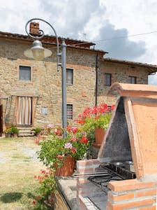 HOLIDAY apartments, amazing view in Tuscany hills