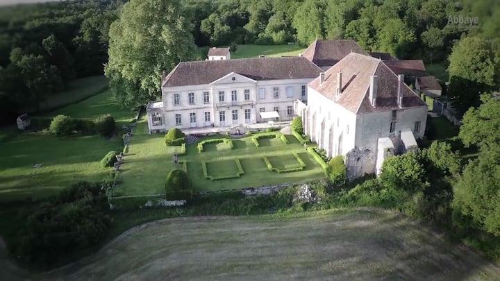 Gîte historique Abbaye Champagne