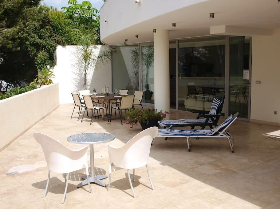 Superb apartment, beach/town 7 mins - Apartments for Rent