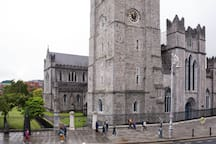 St. Patrick's Cathedral viewed from the sitting room window