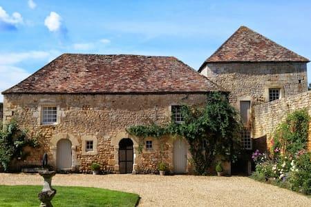 La Tour. Site Château. Piscine - Liniers - Castle