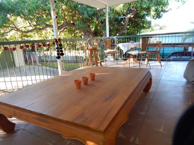 Welcoming room in Queenslander - Belgian Gardens