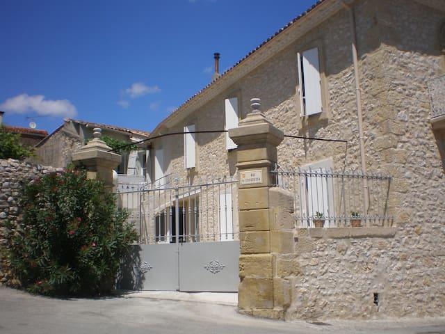 La maison de papé gite Terrasse