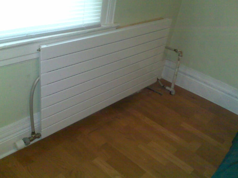 Automatic radiators and finished flooring
