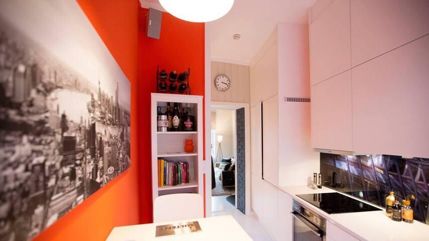 UNIQUE designer apt. in Grünerløkka - Oslo - Condominio