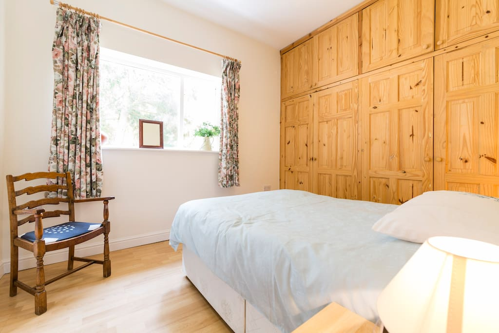 Large double bedroom with plenty of wardrobe space