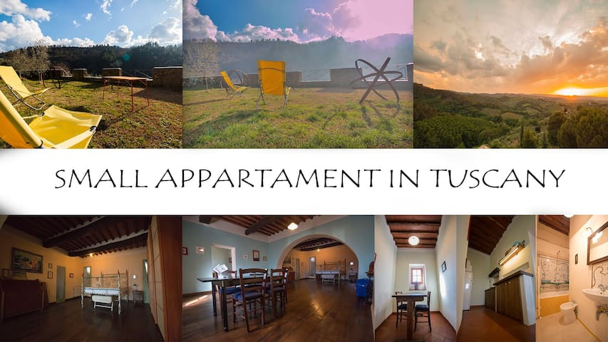 House in Tuscany country side - Ventena - Flat