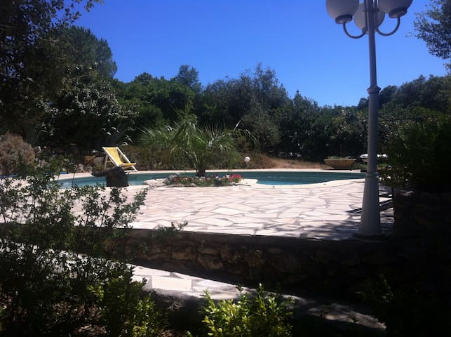 Campaign sea swimming pool Rental - Vailhauquès - Daire