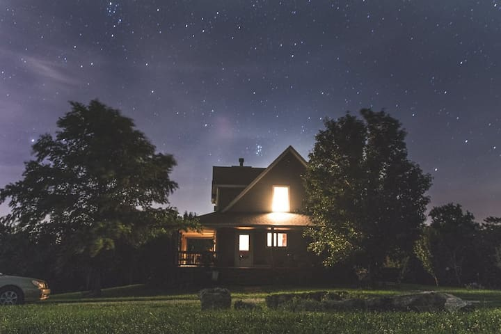 Country retreat near Kansas City - Kansas City - Rumah