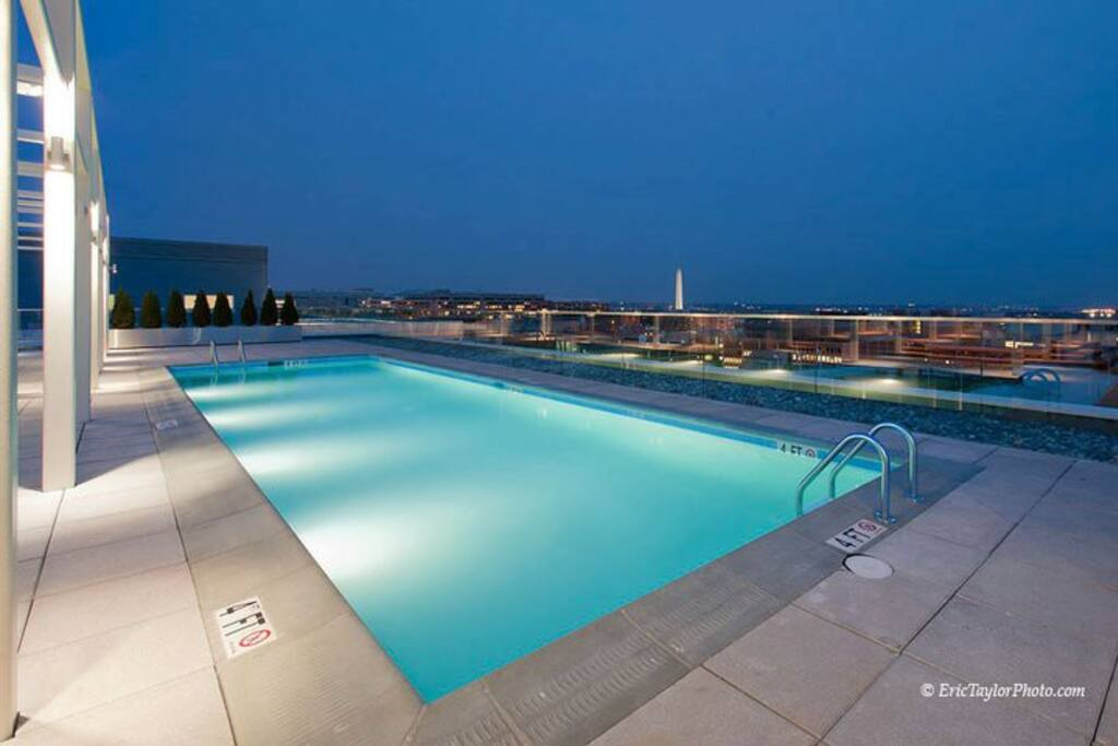 Stunning Rooftop Pool with Million Dollar Views...