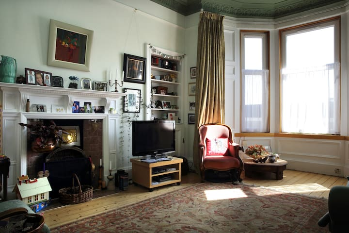 Quiet, attractive single room - Edinburgh - Apartment