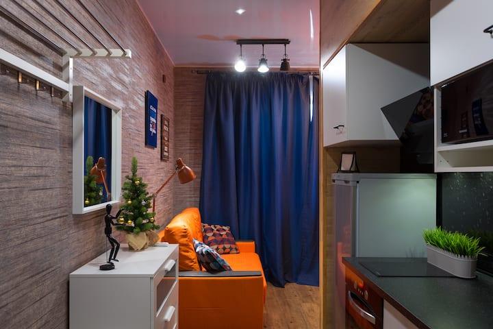 Квартира-студия в самом центре Горки-город