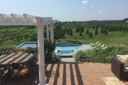 Stunning views in wine country - Cutchogue - บ้าน