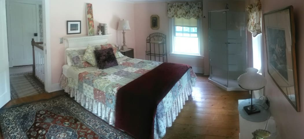 This room is large & has pvt. bath - Greenville - Bed & Breakfast