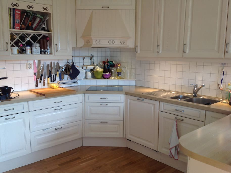 Kjøkken- well equipped kitchen