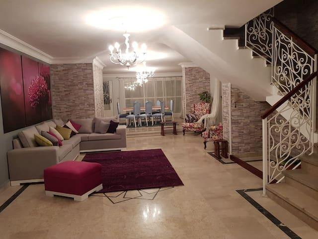 luxury villa with jacuzzi in maadi