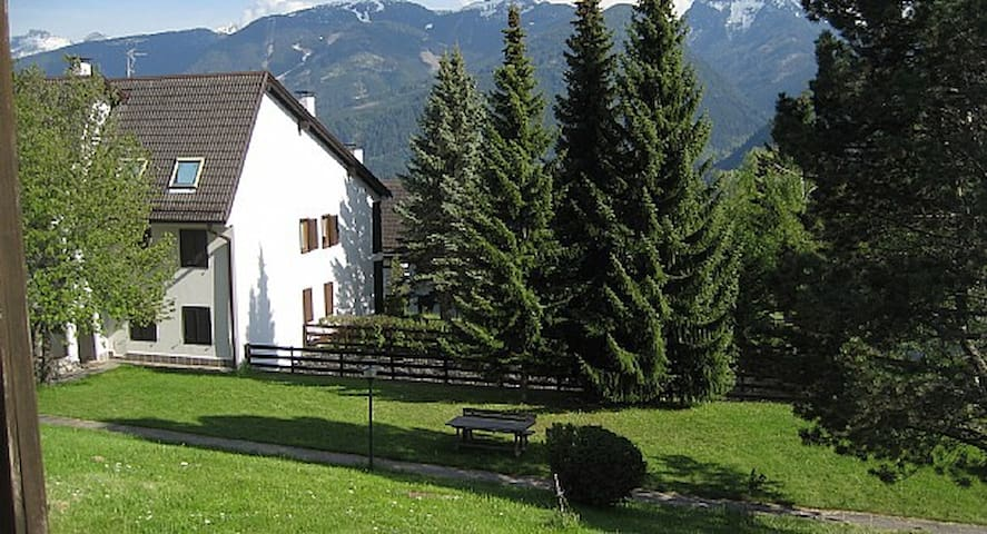 Trilocale in the heart of DOLOMITI - Dosso Veronza - Szeregowiec