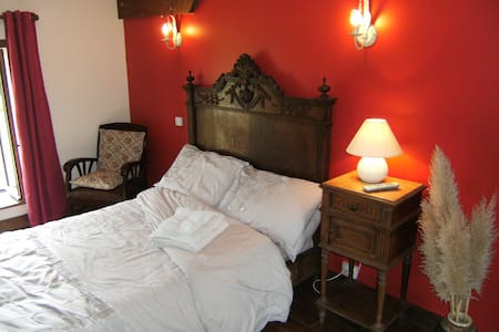 Wonderful Room-Converted Farmhouse - La Rocque - Bed & Breakfast