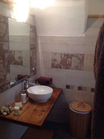 2nd Bathroom downstairs ground level
