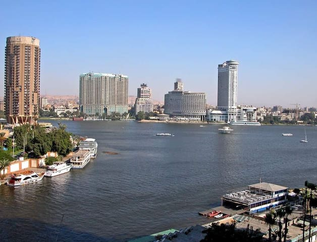Small studio on the nile river