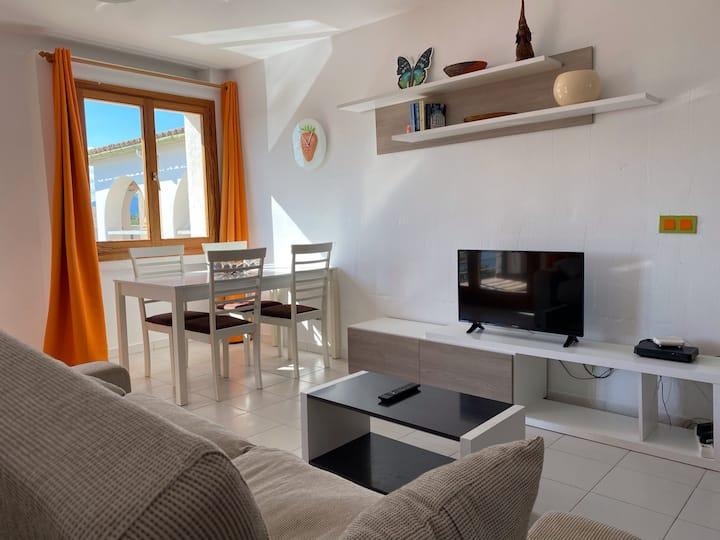 Luminoso apartamento en Puerto de Pollensa