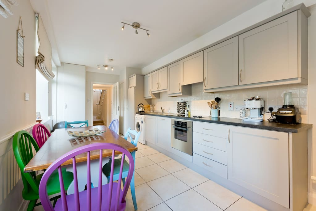 Kitchen - Work away and make yourself at home!