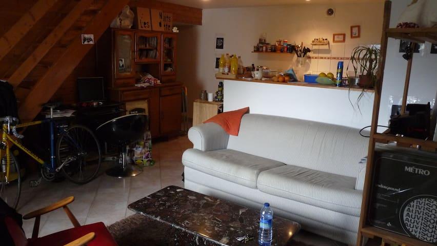 Duplex à 500m du lac - Novalaise - Appartement