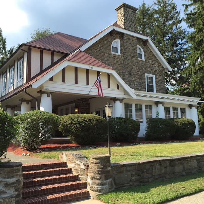 Dutch Colonial Luxury Homes: Majestic Dutch Colonial Home In East Mt. Airy
