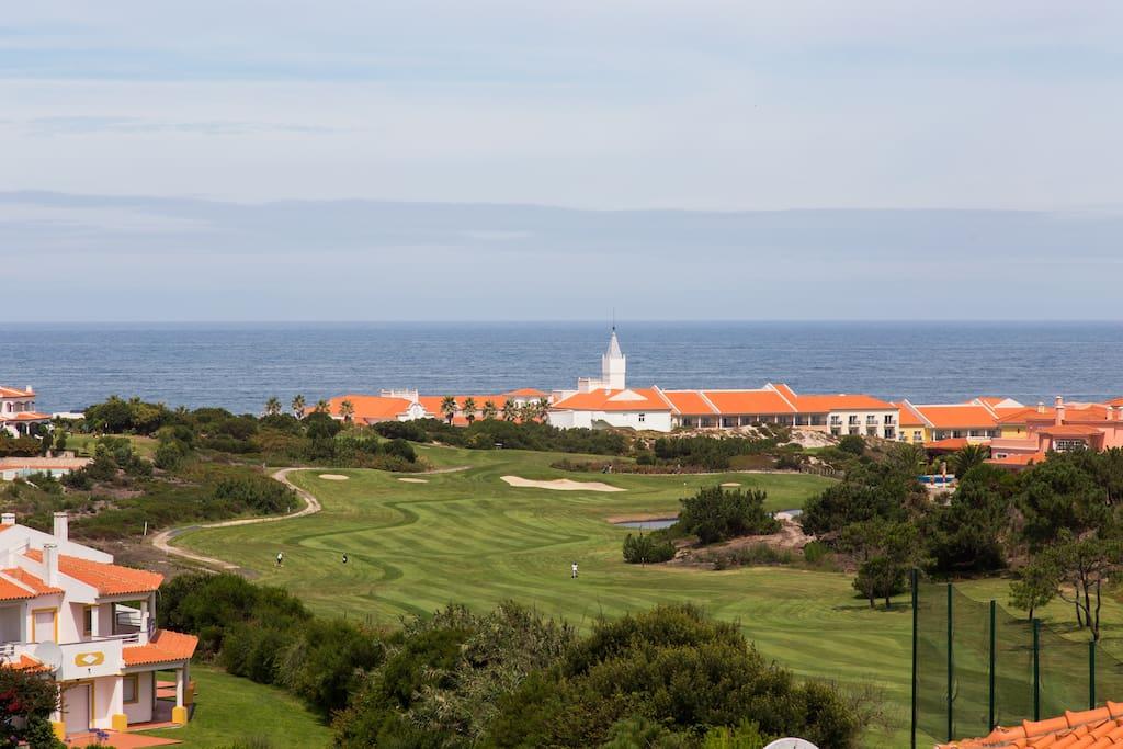 Golf, Hotel and Beach view / Vista Golf, Hotel e Praia