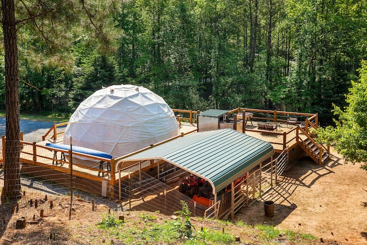 Glamping Geo Dome near Carters Lake - Ellijay