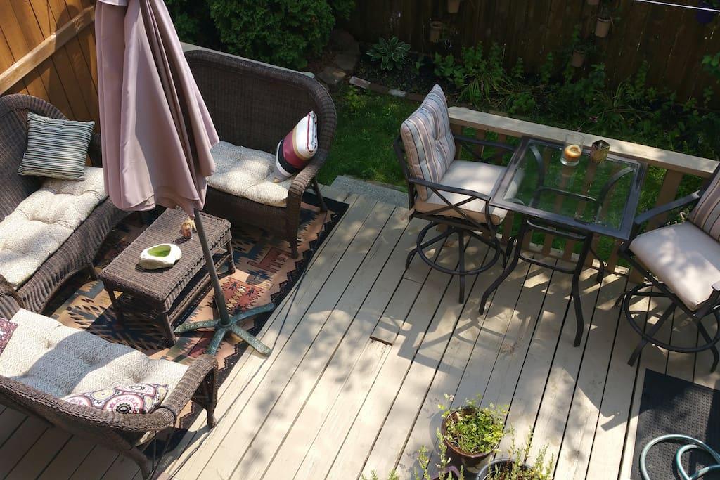 Beautiful Backyard space