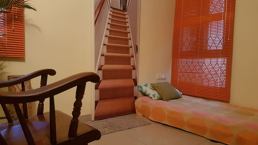 Colourful private room in leafy Sector 15 A, Noida