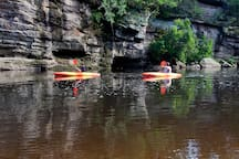 Canoeing closeby