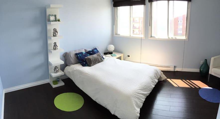 Chambre à Sainte-Foy - Cozy room - Québec - Appartement