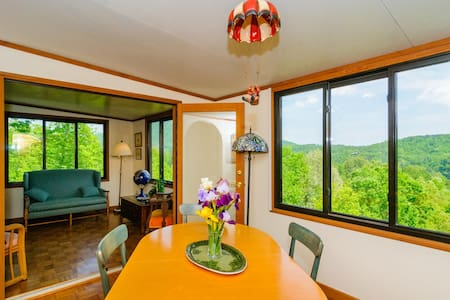 Mountain Sunrise Retreat in Rumbling Bald Resort - Lake Lure - Haus