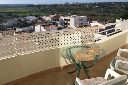 Enjoy autumn in the relaxed Pera with amazing view - Pêra - Leilighet