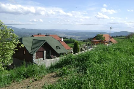 Love beautiful nature in green Pohorje