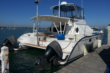 4 Cabin Catamaran for 8 People 45ft - North Bay Village