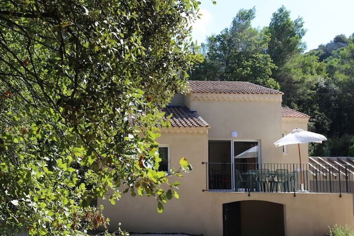 Grande maison campagne Provence - Mornas - Casa
