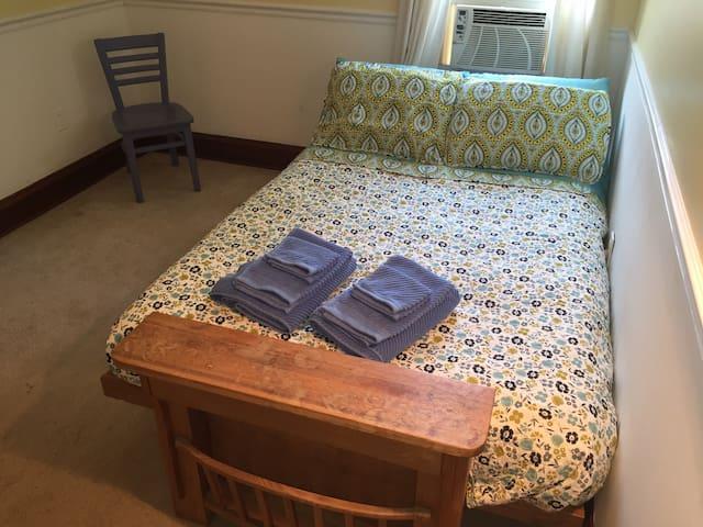 Lilian's Room....minimalist, but cozy!