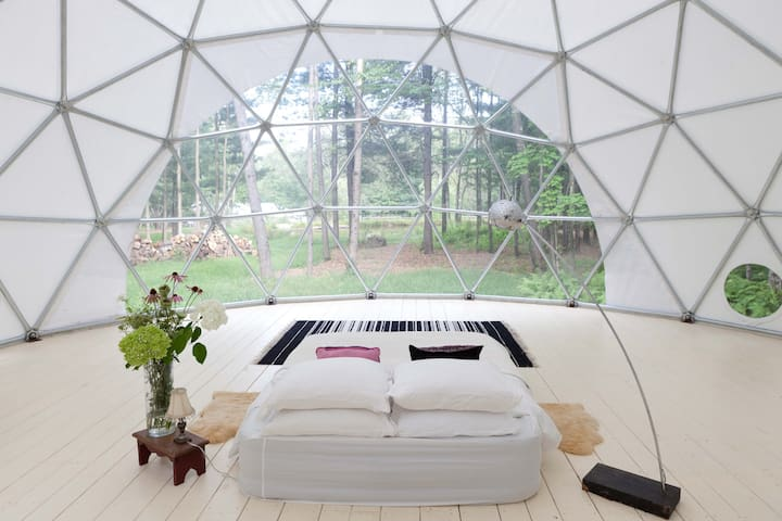 Geo Dome on Farm Upstate Catskills - Woodridge - Yurta