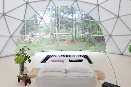 Geo Dome on Farm Upstate Catskills - Yurt