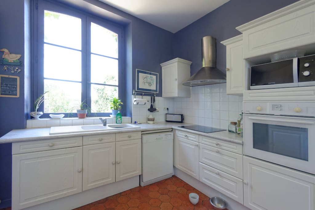 The Kitchen-Well equipped and neat