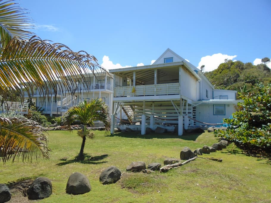 MoonFish Villas on Bathway Beach!