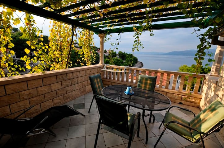 Cozy apartment w/ amazing view - Postira - Brač
