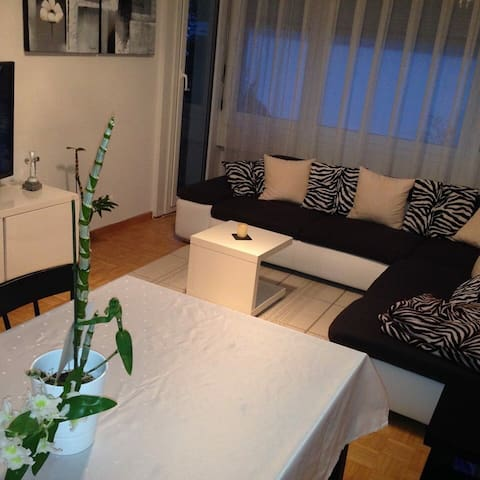 Stadtnahes Privatzimmer - Mühleberg - Apartment