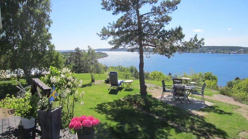 Modern villa med havsutsikt - Saltsjöbaden - Villa