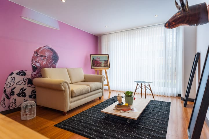 2BR charming apt in best location - Bogota - Apartament