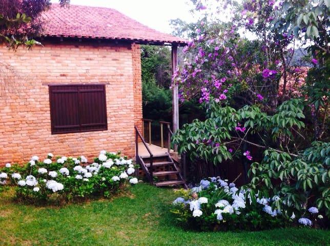 Casa aconchegante e bem localizada em Ibitipoca