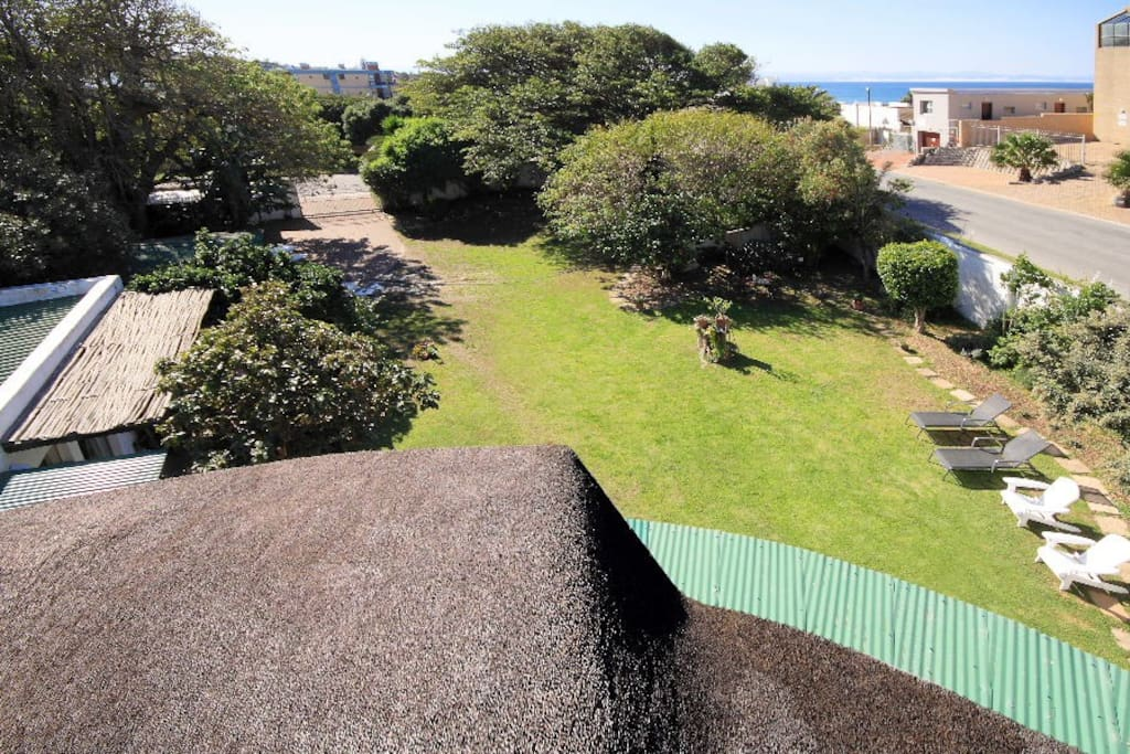 Third floor roof access with ocean view and